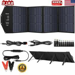 SUAOKI 100W Foldable Portable Solar Panel Charger Power Bank