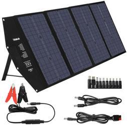 SUAOKI 100W Monocrystalline Solar Panel Generator USB Altern