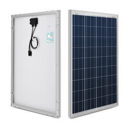 100w polycrystalline photovoltaic pv solar panel module