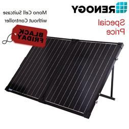 Renogy 100W Portable Solar Panel Suitcase 12V Battery Charge