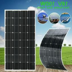 100W Solar Panel Module Monocrystalline Flexible Bendable Ki