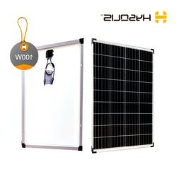 100W watts Solar Panel 12V for off-grid RV marine cabin camp
