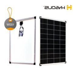 100W solar panel  monocrystalline PV module for off-grid RV
