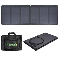 Lensun 100W Waterproof Foldable Solar Panel,ETFE Laminated T