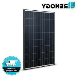 Renogy 100W Watt 12V Volt Monocrystalline Solar Panel  PV Po