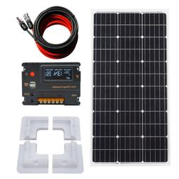 100Watt Solar Panel System 12V Battery Charge W/ 20A Control
