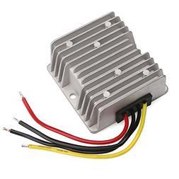 36V 48V to 12V Voltage Reducer, DROK 120W 10A DC to DC Water