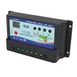 HQRP 10A Small Solar Power Station / Battery Charge Controll