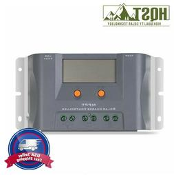HQST 10Amp MPPT Charge Controller 12V Volt Solar Battery Reg
