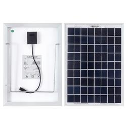 10W 12V Mono Solar Panel for Motorhome,Boat,Camper With 1.5m