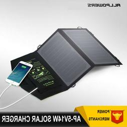 ALLPOWERS 10W/14W Portable Highly Efficient Foldable And Wat