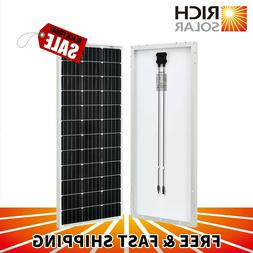 10W 20W 30W 50W 100W Monocrystalline Solar Panel 12V Battery