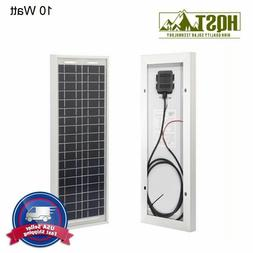 HQST 10W 30W 12V Poly Solar Panel 12 Volt PV Power Off Grid