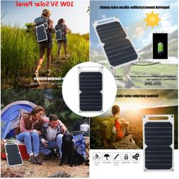 10w 5v ultra thin solar panel usb