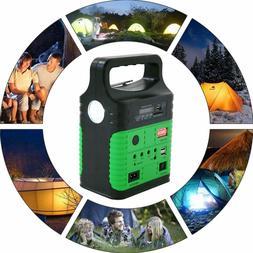 10W Solar Generator Lighting Kit with Solar Panels and LED L