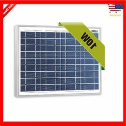 NewPowa 10W Watt 12V Poly Solar Panel Module Marine Off Grid