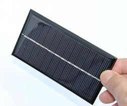 1X 6V 1W 110*60mm Micro Mini Power Small Polycrystalline Sol