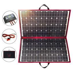 110w 18V Foldable SolarPanel Solarmodule +12V Controller  RV