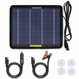 12 Volts 5 Watts Portable Power Solar Panel Battery Charger