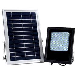 Easydeal 120 LED Solar Light Sensor Flood Spot Garden Wall W