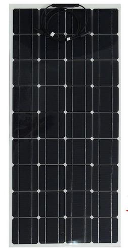 120 Watt 12 Volt Mono Flexible Bendable Solar Panel NEW/Free