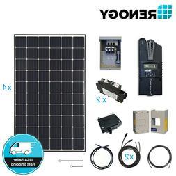 Renogy 1200W 12V Mono Solar Panel Cabin Kit Off Grid Power S