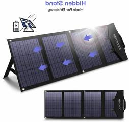 120W/60W Solar Charger Portable Solar Panel Foldable for Pow