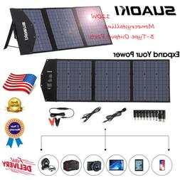 SUAOKI 120W Mono-crystalline Solar Panel Solar Powered Panel