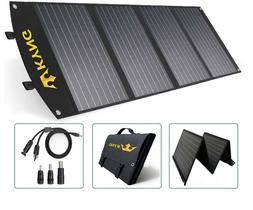 KYNG 120W Portable Solar Panel Foldable Charger 18V with 3 U