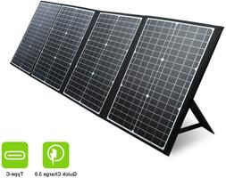 120W Portable Solar Panel for Jackery Solar Generator/Rockpa