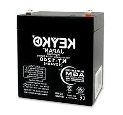12V 4Ah Home Alarm BatteryAGM/SLA Sealed Lead Acid Rechargea