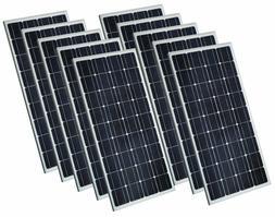 12V 1.5W 100W 200W Mono Solar Panel 100 Watt 36 Cell For RV