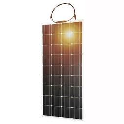 Dokio 12V 100W Monocrystalline Flexible Solar Panel For Car/