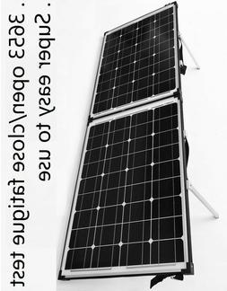 12v 120w folding solar panel kit easy