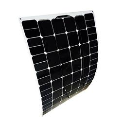 REBORN 50Watts 12V/18V Monocrystalline SunPower Cell Semi Fl
