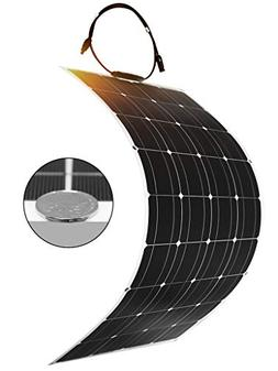 DOKIO 100 Watt 12V/24v Monocrystalline Flexible Lightweight