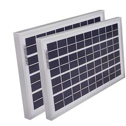 ECO LLC 20W 12V/24V Poly Solar Panel 2PCS 10Watt PV Solar Mo