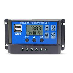 Solar Charge Controller 20A Solar Panel Battery Controller 1