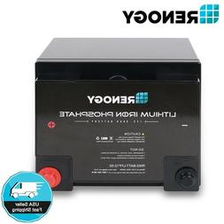 12v volt 50ah lithium iron phosphate battery