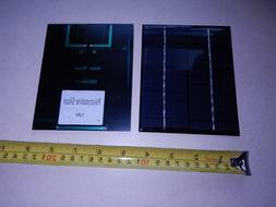 5.5V x 120 mA Mini Solar Panel epoxy encapsulated virtually indestructible