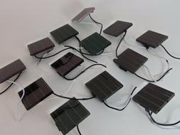 13X 2 Volt 28mA .07W Solar Light Project Cells Panels 2V Wir