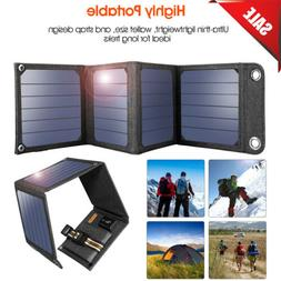 Suaoki 14W 5V Solar Panel Battery Charging USB Charger For S