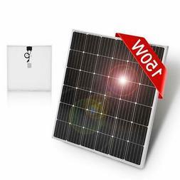 DOKIO 150 Watt 12 Volt / 18volt Monocrystalline Solar Panel