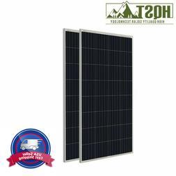 HQST 150W Watts 12V Poly Solar Panel PV Power RV Car Boat Ho