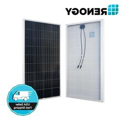 Renogy 150W 160W 12V Solar Panel Poly 150 160 Watt Off Grid