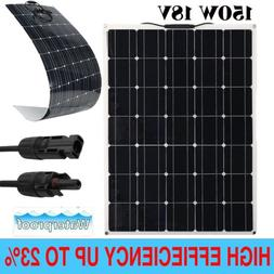 150W A-Class Semi-Flexible Solar Panel 150Watt 18V Battery C