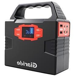 Portable Generator, Giaride 150Wh Solar Power Inverter 40800
