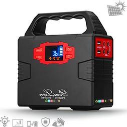 PoniLion 150Wh Portable Solar Generator Solar Power Inverter