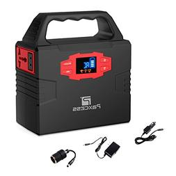 151Wh 40800mAh Portable Generator Power Station, 100W CPAP B