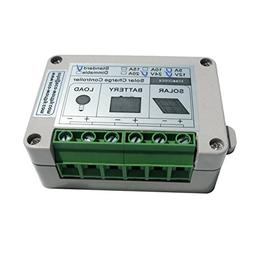 ECO-WORTHY 15A PWM Solar Panel Charge Controller 12V/24V Bat